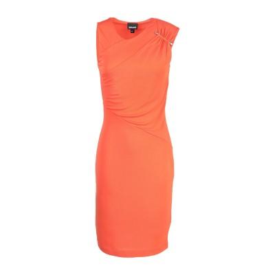 ジャストカヴァリ JUST CAVALLI ミニワンピース&ドレス オレンジ 38 レーヨン 100% ミニワンピース&ドレス