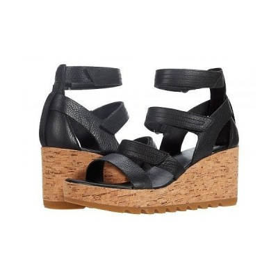 SOREL ソレル レディース 女性用 シューズ 靴 ヒール Cameron(TM) Multi Strap Wedge - Black 1