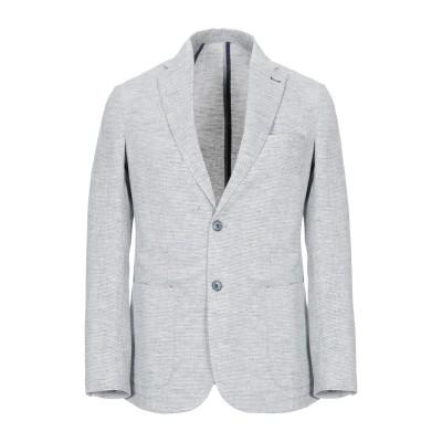 UNGARO テーラードジャケット ダークブルー 48 麻 50% / コットン 50% テーラードジャケット