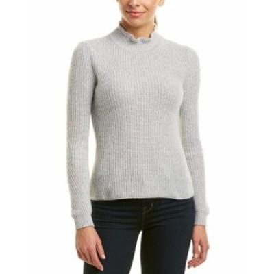 ファッション トップス Sigrid Olsen Cashmere Sweater M Grey