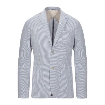 アティピコ AT.P.CO テーラードジャケット ブルー 46 コットン 100% テーラードジャケット