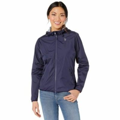 ユーエスポロアッスン U.S. POLO ASSN. レディース ジャケット アウター Reversible Jacket Evening Blue