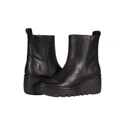 FLY LONDON フライロンドン レディース 女性用 シューズ 靴 ブーツ アンクル ショートブーツ BALE250FLY - Black Verona Leather