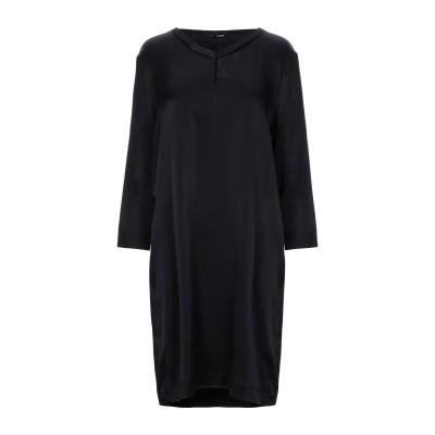 テッサ .TESSA ミニワンピース&ドレス ブラック 48 シルク 94% / ポリウレタン 6% ミニワンピース&ドレス