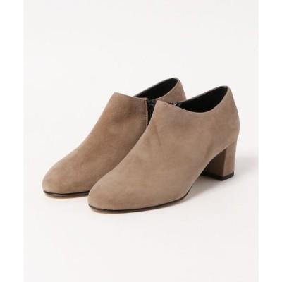 ブーツ 【CORSO ROMA,9/コルソローマ9】アンクル ショート ブーツ ブーティ スウエード