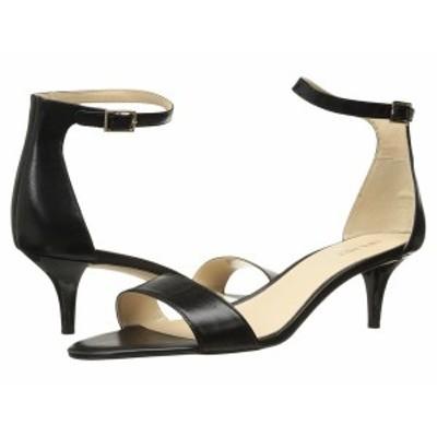 ナインウェスト レディース ヒール シューズ Leisa Heel Sandal Black Leather