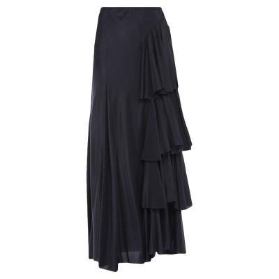ジャッカ JUCCA ロングスカート ブラック 42 シルク 100% ロングスカート