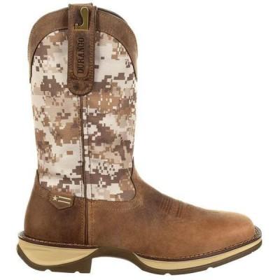 ドゥランゴ メンズ ブーツ・レインブーツ シューズ Rebel Square Toe Cowboy Boots