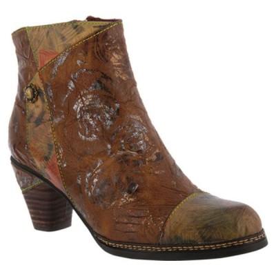 スプリングステップ ブーツ&レインブーツ シューズ レディース Waterlily Ankle Boot (Women's) Brown Multi Leather Combo