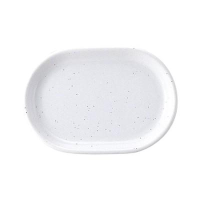 ☆ 楕円皿 ☆ギャラクシー ミルク 26cm プラター [ L 26.2 x S 18.2 x H 2.7cm ] 【 飲食店 レストラン ホテル カフェ 洋食器 業務用 】