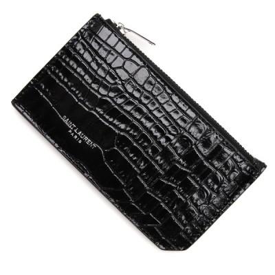 サンローランパリ SAINT LAURENT PARIS カードケース ブラック レディース 631992-dnd0n-1000