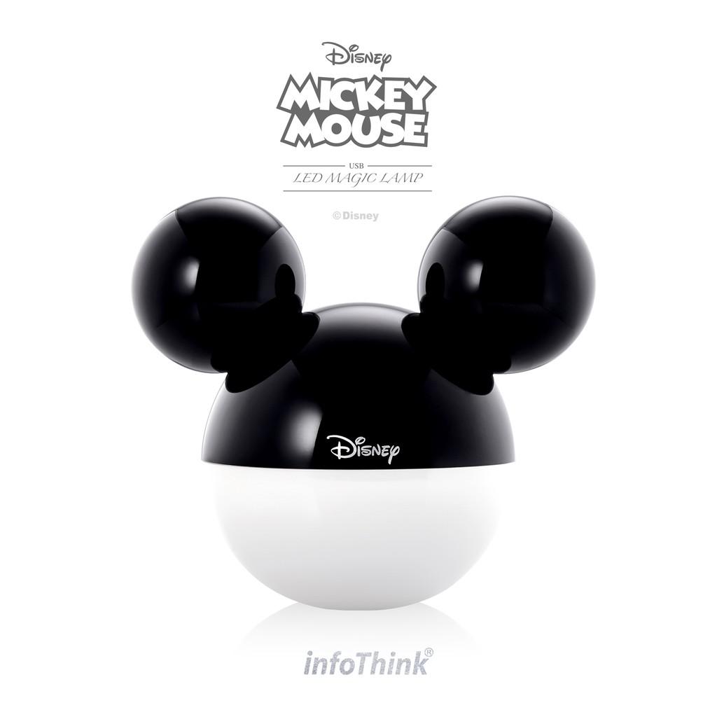 InfoThink 迪士尼米奇系列 藍牙APP魔法情境燈/夜燈-經典黑