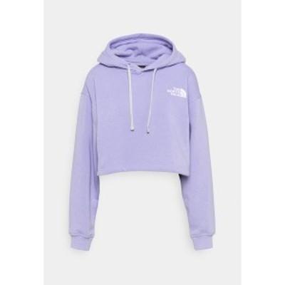 ノースフェイス レディース パーカー・スウェットシャツ アウター TREND CROP DROP HOODIE - Sweatshirt - sweet lavender sweet lavende