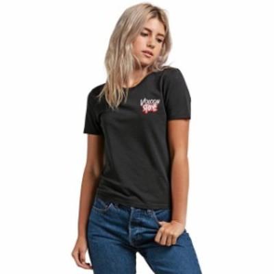 volcom ボルコム ファッション 女性用ウェア Tシャツ volcom skullactic-wave-tee