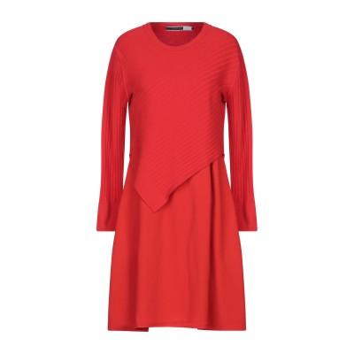 SPORTMAX CODE ミニワンピース&ドレス レッド M レーヨン 72% / ポリエステル 28% ミニワンピース&ドレス
