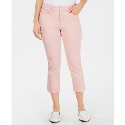 チャータークラブ デニムパンツ ボトムス レディース Tummy-Control Bristol Capri Jeans, Created for Macy's Misty Pink