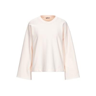 MALÌPARMI スウェットシャツ ライトピンク S コットン 100% スウェットシャツ