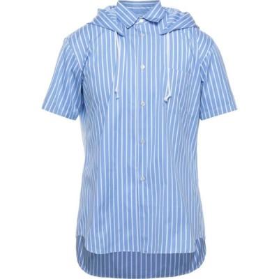 コム デ ギャルソン COMME des GARCONS SHIRT メンズ シャツ トップス Striped Shirt Sky blue
