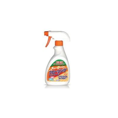 フローリング用クリーナー スーパーオレンジ フローリング 本体 400ml 床 掃除 ワックス ツヤ出し 消臭 除菌 オレンジオイル UYEKI(ウエキ)公式