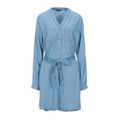 VERO MODA ミニワンピース&ドレス ブルー XS テンセル 100% ミニワンピース&ドレス