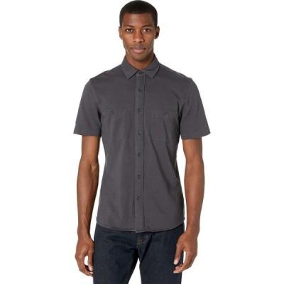 ファレティ Faherty メンズ 半袖シャツ トップス Short Sleeve Knit Seasons Shirt Washed Black