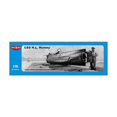 Micro-Mir Confederate Submarine CSS H.L. Hunle 1/35 35-013【並行輸入品】