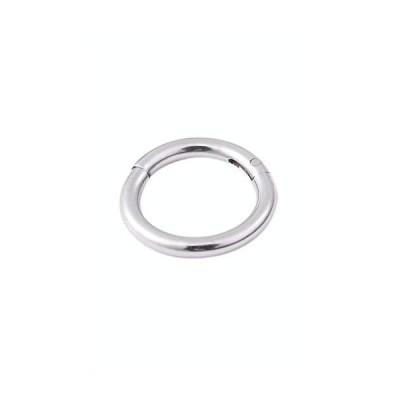 [PIASIN] サージカルステンレス製 軟骨ピアス シルバー リングピアス 片耳用 1点(太さ16G 1.2mm 内径6mm)