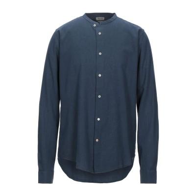 IMPURE シャツ ダークブルー XL リネン 55% / コットン 45% シャツ