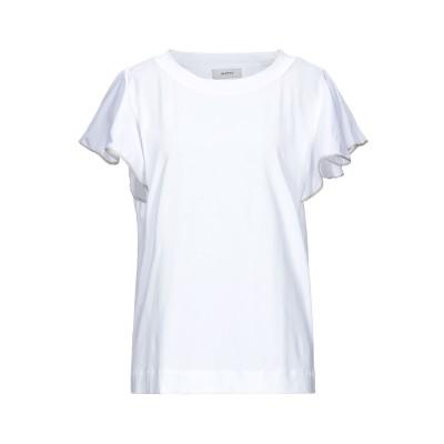 アルファスタジオ ALPHA STUDIO T シャツ ホワイト 44 コットン 95% / ポリウレタン 5% T シャツ