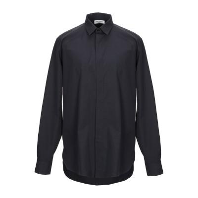 SAINT LAURENT シャツ ブラック 39 コットン 100% シャツ