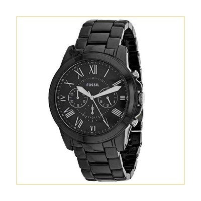 Fossil Men's Grant Black Dial Watch - CE5021 並行輸入品