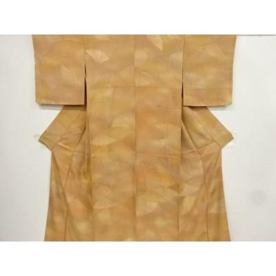 宗sou 松葉模様暈し一つ紋小紋着物【リサイクル】【着】