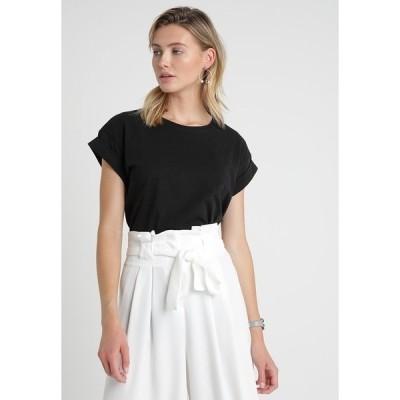 モス コペンハーゲン Tシャツ レディース トップス ALVA PLAIN TEE - Basic T-shirt - black