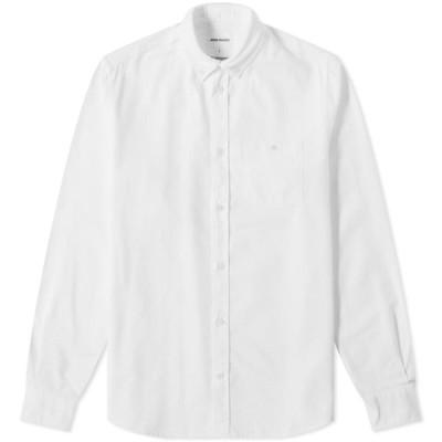 ノースプロジェクト Norse Projects メンズ シャツ トップス Anton Oxford Shirt White
