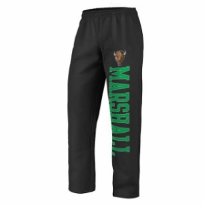 Fanatics Branded ファナティクス ブランド スポーツ用品  Fanatics Branded Marshall Thundering Herd Black Sideblocker Fleece Pants