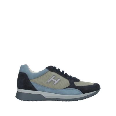 ホーガン HOGAN スニーカー&テニスシューズ(ローカット) ブルー 8 革 / 紡績繊維 スニーカー&テニスシューズ(ローカット)