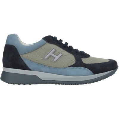 ホーガン HOGAN スニーカー&テニスシューズ(ローカット) ブルー 10 革 / 紡績繊維 スニーカー&テニスシューズ(ローカット)