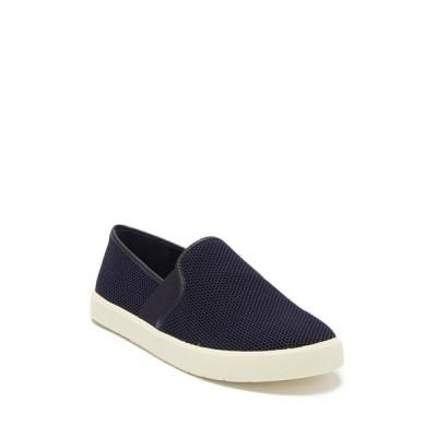 ヴィンス レディース スニーカー シューズ Preston B Perforated Leather Slip-On Sneaker INDIGO