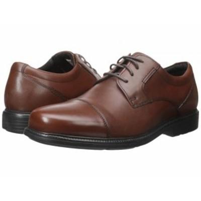 Rockport ロックポート メンズ 男性用 シューズ 靴 オックスフォード 紳士靴 通勤靴 Charles Road Cap Toe Oxford Tan II【送料無料】