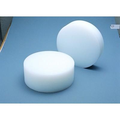 業務用中華まな板(白) 小 直径350mm 厚さ100mm ヤマケン 山県化学 中華料理店 中華