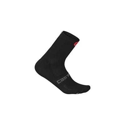 Castelli Quattro 9 Sock Black, S/M - Men's【並行輸入品】