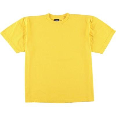 SPIN 無地Tシャツ USA製 メンズL /eaa050473