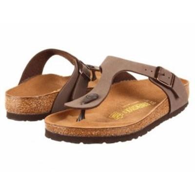 Birkenstock ビルケンシュトック レディース 女性用 シューズ 靴 サンダル Gizeh Birkibuc(TM) Mocha Birkibuc(TM)【送料無料】