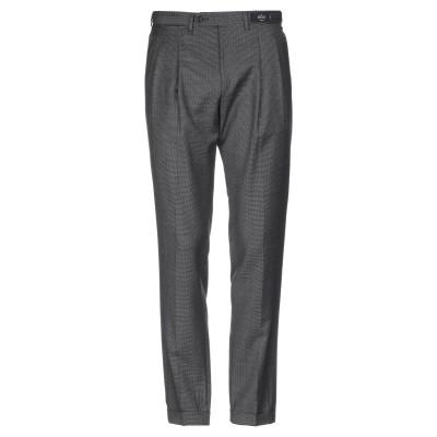 REVERES 1949 パンツ ブラック 48 スーパー130 ウール 100% パンツ