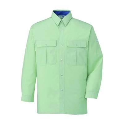 自重堂 形態安定長袖シャツ 34004