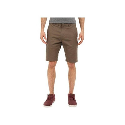 ボルコム Frickin Modern Stretch Chino Shorts メンズ 半ズボン Mushroom