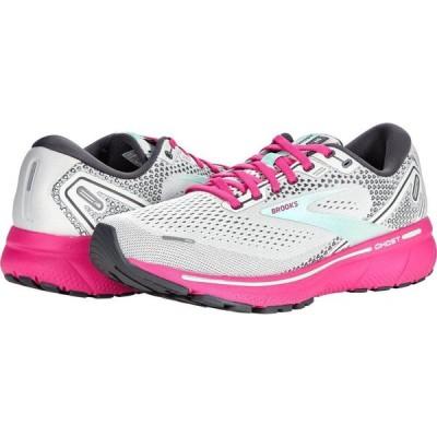 ブルックス Brooks レディース ランニング・ウォーキング シューズ・靴 Ghost 14 Oyster/Yucca/Pink