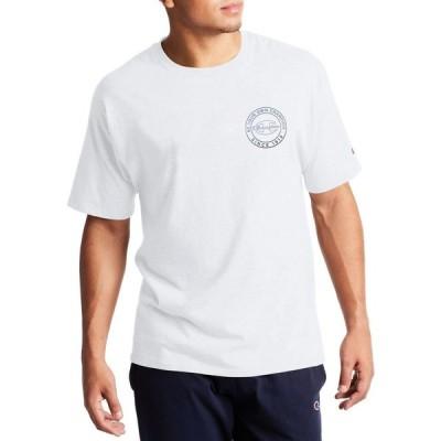 チャンピオン Champion メンズ Tシャツ トップス Classic Circle Graphic T-Shirt White