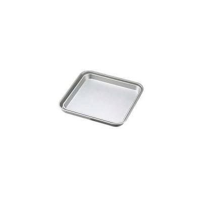 ノーブランド 商品コード:0305700 アルマイト 角盆 30cm