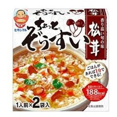 ヒガシマル醤油 ちょっとぞうすい 松茸 (8g×2袋)×10箱入